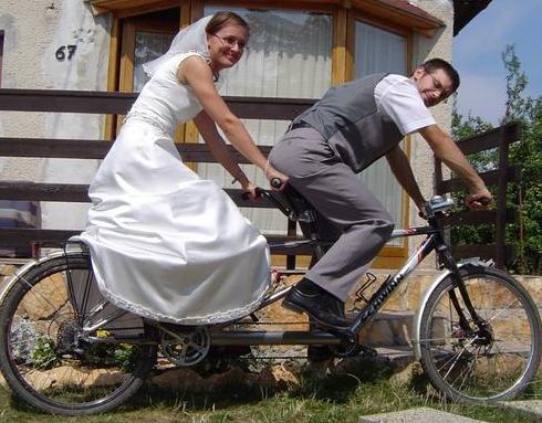 esküvői tandemes