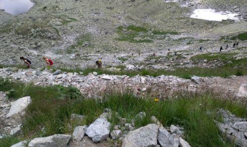 15 úton a rysyre mászás