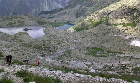16 úton a rysyre mászás